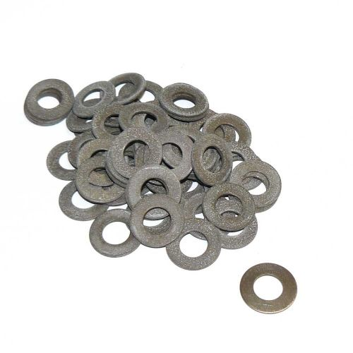 Job Lot of 60 10.2 x 21mm Solid Brass Washers A Bit Mouldy But Usable